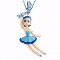 Poupée manga bleue