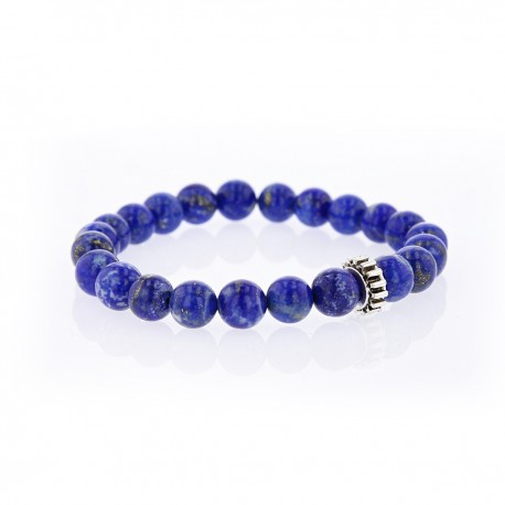 Bracelet Lucky Homme lapis lazulis