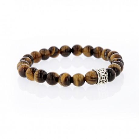 Bracelet Lucky Homme oeil de tigre