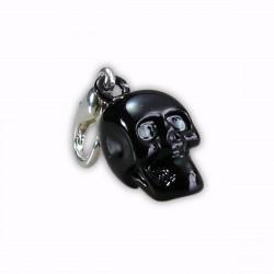 Charm tête de mort noire