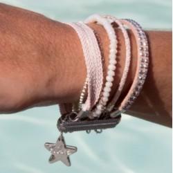 Nude magnetic cuff bracelet