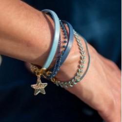 Magnetic cuff bracelet blue...