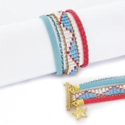 Bracelet manchette aimanté indien