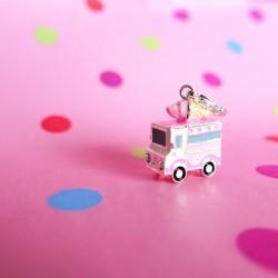Ice cream truck charm