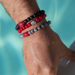 Bracelet Lucky  Homme Jade...