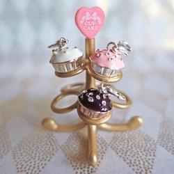 Charm cupcake rose