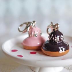 Chocolate religious charm