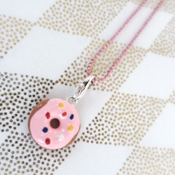 Pink chain for charms