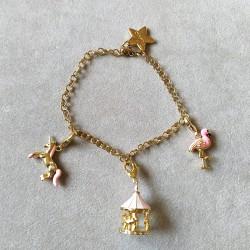 Gold bracelet for Charms