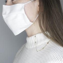 Zoe mask/glasses chain