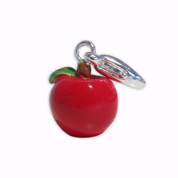 Charm pomme rouge