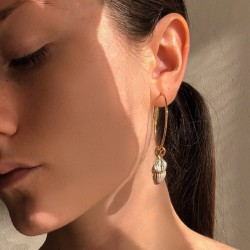 Virgin earrings