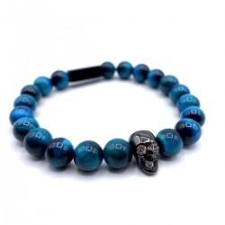 River tiger eye bracelet