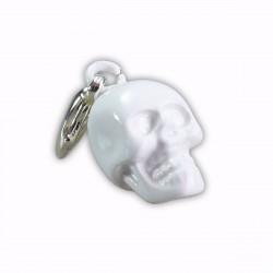 Charm tête de mort blanche